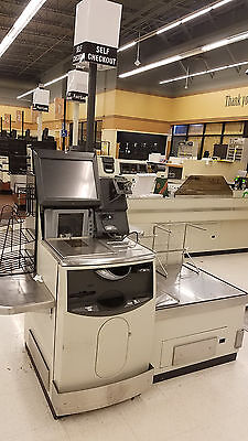 NCR SELF SCANNING Checkout Grocery Store Self Check out Model 7346 Short Version