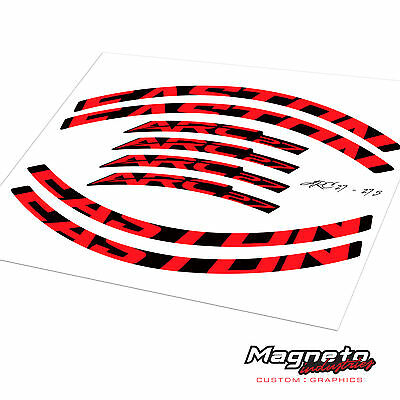 Easton ARC27 - 27.5 Decal Kit - Reproduction Rim Decals