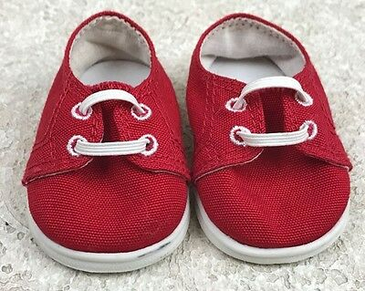 American Girl Bitty Baby Twin Boy Red Sneakers Only from Plaid & Denim Outfit