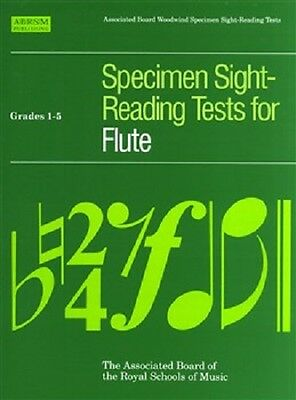 ABRSM Specimen Sight-Reading Tests: Flute Grades 1-5 & Grades 6-8 Available