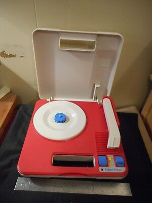 Vintage Fisher Price battery operated record player 3814