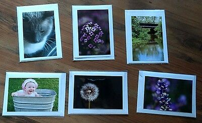 Beautiful Photocards - Misc Lot - Set of 6