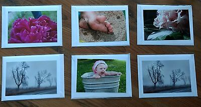 Beautiful PhotoCards - Misc Lot of 6
