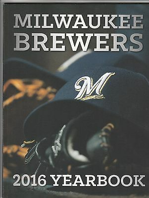 Milwaukee Brewers 2016 Yearbook