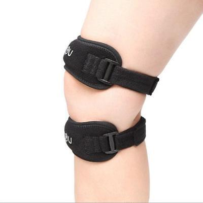 Adjustable Sports Jumper Knee Support Strap Band Patella Tendon Pain Relief - S