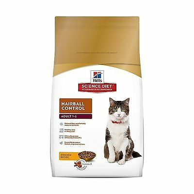 Hill's Science Diet Adult Cat Hairball Control Formula Dry Food 7.03kg/15.5-P...