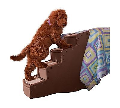 Pet Gear Easy Step IV Pet Stairs Chocolate