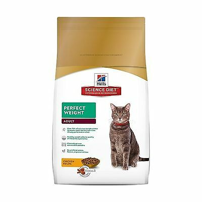 Hill's Science Diet Adult Perfect Weight Cat Food 15-Pound (6.8kg) Bag
