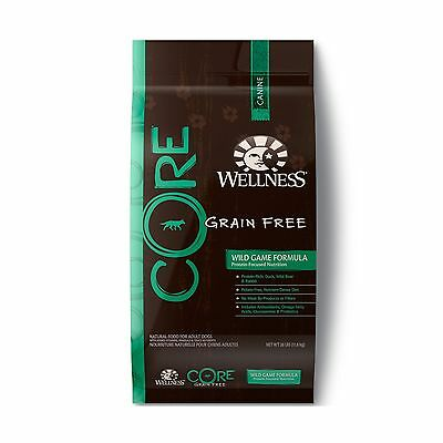 Wellness CORE Natural Grain Free Dry Dog Food Wild Game 22-lb 22-Pound Bag