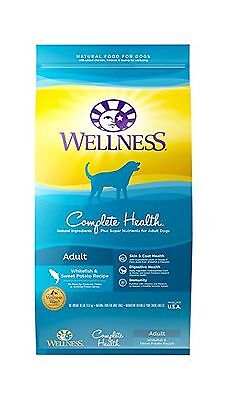 Wellness Complete Health Natural Dry Dog Food Whitefish & Sweet Potato 30-Pou...
