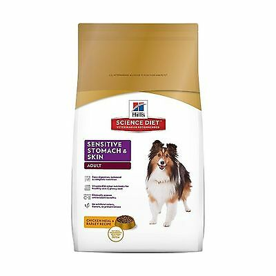 Hill's Science Diet Canine Adult Sensitive Stomach & Skin Dry Food 13.6kg/30-...