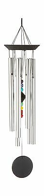 Woodstock Chimes Chakra Windchime with 7 Stones 24.5-Inch