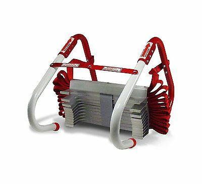 Kidde 468094 Three-Story Fire Escape Ladder with Anti-Slip Rungs 25-Foot