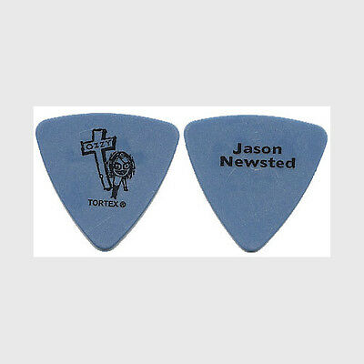 Ozzy Osbourne Jason Newsted authentic 2003 concert tour Guitar Pick Metallica