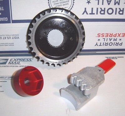 Sportster 32 Tooth Pulley & Tools 91-03 Front Transmission Harley 32TS-1B