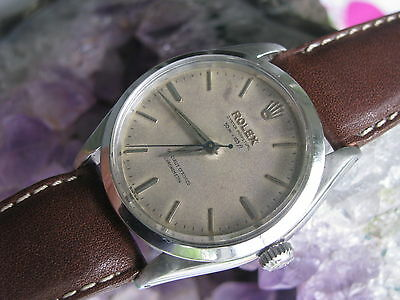 Rolex Oyster Perpetual 6565 Vintage Stainless Steel Wrist Watch, 1030 Movement