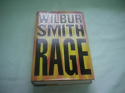 Rage by Wilbur Smith 1987 Hardcover w/Jacket 1st American Edition