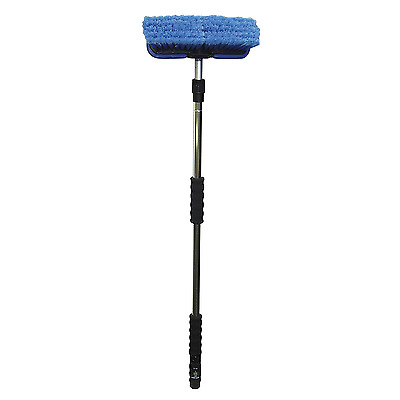 Car Brush Wash Cleaning Snow Wheel Soft Head Brushes Clean Brush 10 In W/ Bumpe