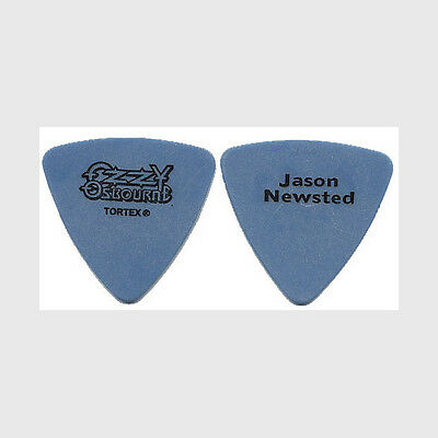 Ozzy Osbourne Jason Newsted real 2003 tour collectible Guitar Pick Metallica