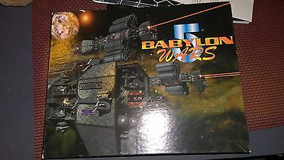 BABYLON 5 WARS 2nd editon BW-101 LOTS OF EXTRAS
