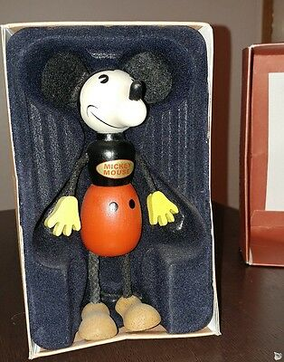Mickey Mouse FUN-E-FLEX Wooden doll