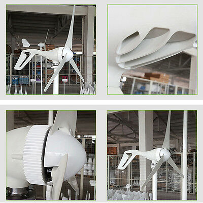 300W 12V 24V Wind Turbine Generator Aluminum Alloy Shell with Charge controller