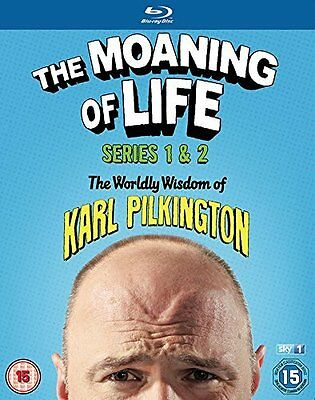 USED (LN) The Moaning of Life (Series 1 & 2) - 4-Disc Box Set ( The Moaning of L