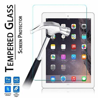 New Premium Tempered Glass Screen Protector for Apple iPad 6th 2018 9.7 inch