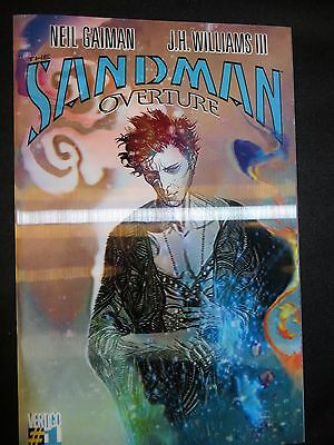 DC comics Sandman Overture 1 variant 3D Neil Gaiman J.H. Williams NEAR MINT