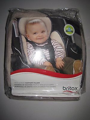 Britax Head and Body Support Pillow, Iron/Gray - Multiple Variations