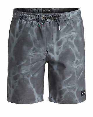 "NEW QUIKSILVER™  Mens Waisted Amphibian 19"" Boardshort Surf Board Shorts"