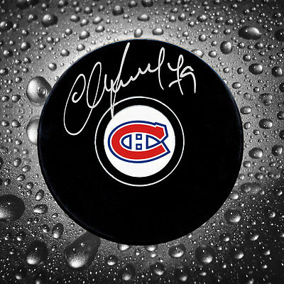 Andrei Markov Montreal Canadiens Autographed Puck