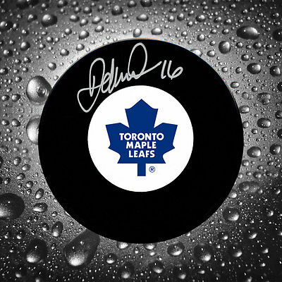 Darcy Tucker Toronto Maple Leafs Autographed Puck