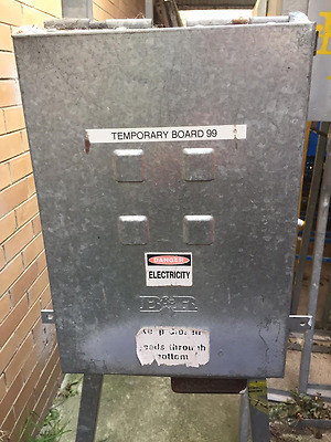 Temporary Construction Power Boards