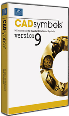 CADsymbols Version 9 - Plug-in for TurboCAD, AutoCAD & Solidworks