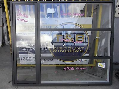 Aluminium Awning Window 1800 H X 2170 W (Item 3013/14) Monument