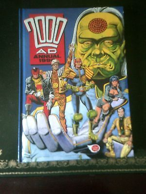 2000AD Annual 1990,  Published 1989, Vintage Book, 2000AD & Judge Dredd