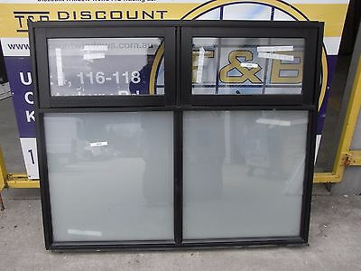 Aluminium Awning Window 1200 H X 1460 W (Item 3028/9) Black