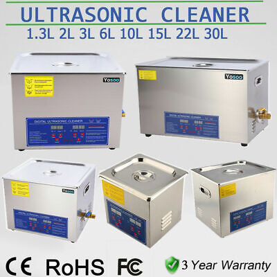DIGITAL ULTRASONIC Cleaners Cleaning Supplies BATH TANK TIMER HEATER