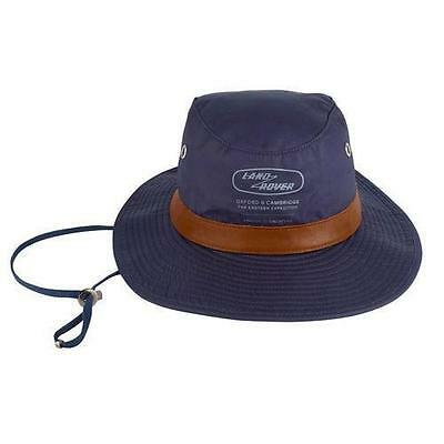 Genuine Land Rover  Waxed Cotton Bush Hat - Navy