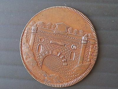 Scarce Thames And Severn Canal Token 1795 (United Kingdom)