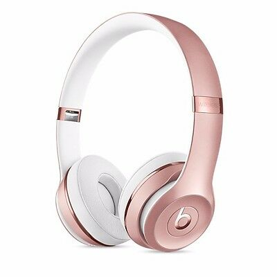 Beats By Dre Solo3 Wireless Bluetooth Headphones Rose Gold - DISCOUNTED