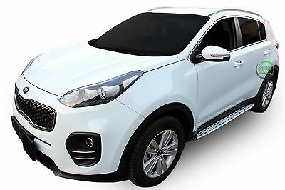 NEW Kia Sportage 2016- up  Running Boards Side Steps  PREMIUM QUALITY