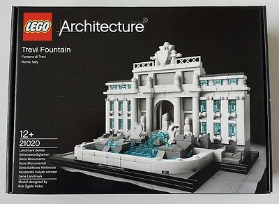 LEGO - 21020 - Architecture Trevi Fountain - New In Sealed Box