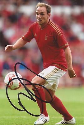 NOTTINGHAM FOREST: DAVID VAUGHAN SIGNED 6x4 ACTION PHOTO+COA