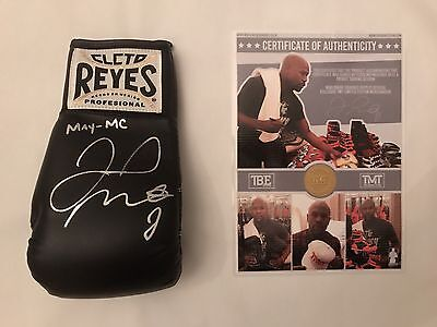 Floyd Mayweather Connor Mcgregor MAY-MC  Reyes Boxing Glove TMT C.O.A 2 Left