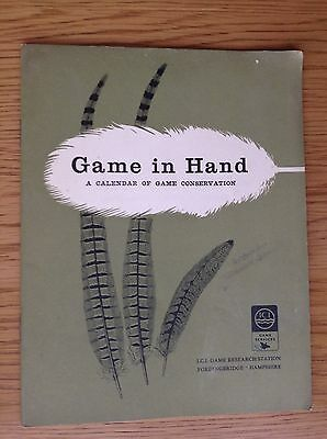 Game In Hand - A Calendar Of Game Conservation