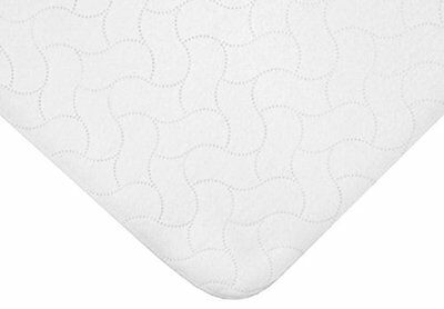 American Baby Company Waterproof Embossed Quilt-Like Flat Crib Protective Pad