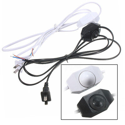1.8m Portable AWG Switch Dimming Cable Light Modulator Lamp Line Dimmer 110-220V