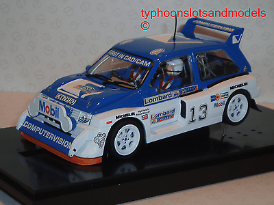 6017 MSC Competition - MG Metro 6R4 Computervision - RAC Rally 1985 No.13 - New